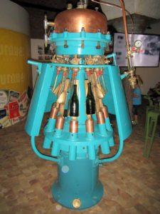 Alte Flaschenabfüllmaschine
